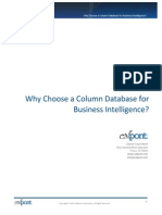 Why Choose a Column Database for Business Intelligence