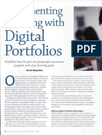 documenting learning with digital portfolios