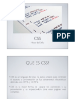 Introduccion a CSS