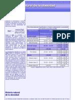 Historia natural de la obesidad - Trabajo II- Modulo III - Silvia Rodríguez