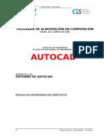 Modulo Autocad