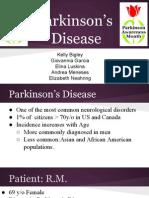 parkinsons presentation case study