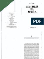 FAGE, J.D. - História Da África