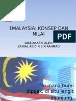 Konsep 1 Malaysia