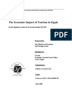 Economic Impact of Tourism in Egypt