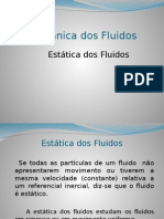 Aula 3 - Estatica dos fluidos - Copia.ppt
