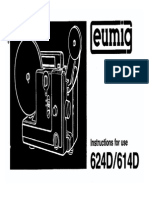 Eumig 624D/614D Instruction Manual