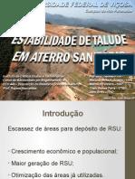 Apresentação Trabalho Residuos Sólidos Urbanos