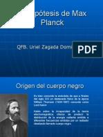 La Hipótesis de Plank