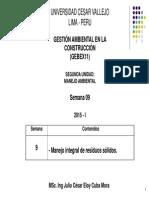 Gestion Ambiental - UCV