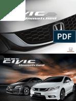 Civic 2014 Brochure