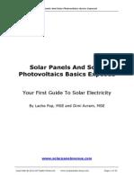 PV Basics