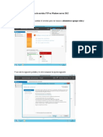 Ftp en Windows Server 2012