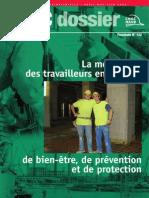 La Motivation Des Travailleurs en Matière de Bien-être, De Prévention Et de Protection