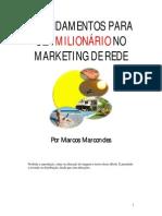 8 Fundamentos Para Ser Milionário No Marketing Multinível