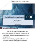 The Fight Against Hate Reporting System