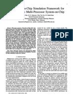 A Network-on-Chip  Simulation  Framework  for Homogeneous Multi-Processor  System-on-Chip.PDF