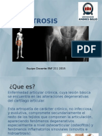 Clase Osteomuscular ARTROSIS 2015 (2)