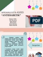 PPT Spesialite Antidiabetik