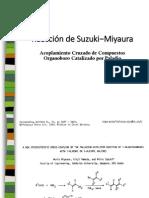 Reacción de Suzuki-Miyaura