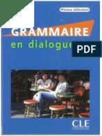 Grammaire en Dialogues Niveau Débutant