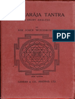 Tantraraja Tantra a Short Analysis 1956. Ganesh & Co - Sir Jone Woodroffe