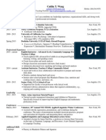 wang caitlin resume 2015