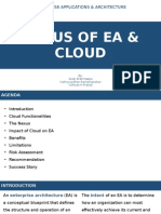 Nexus of EA & Cloud
