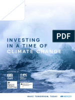Mercer Climate Change Report 2015