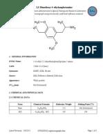 2,5 Dimethoxy 4 Ethylamphetamine
