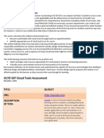 portfolio  2 cloud tools assessment-3