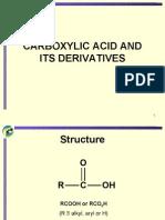 Matriculation Chemistry ( Carboxylic Acid )