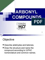 Matriculation Chemistry ( Carbonyl Compound )