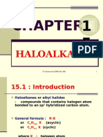Matriculation Chemistry ( Haloalkane )