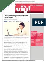 Consejos CV El Comercio