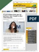CV Perfecto El Comercio Peru