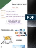 Diapo - Redes Sociales