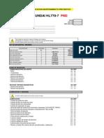 Material Lista Verificacion Mantenimiento Preventivo Cargador Frontal Hl770 7 Hyundai