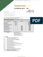 Material Lista Verificacion Mantenimiento Preventivo Cargador Frontal 950g Caterpillar