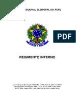 Regimento Interno TRE_AC