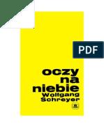 Schreyer, Wolfgang - Oczy Na Niebie – 1970 (Zorg)