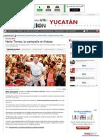 04-06-2015 Nerio Torres, la campaña en frases