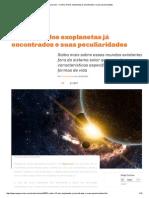 Megacurioso - Confira 15 Dos Exoplanetas Já Encontrados e Suas Peculiaridades