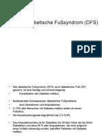 Das Diabetische Fußsyndrom (DFS)