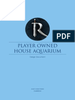 Aquarium Design Document