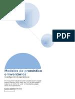 Modelos de Pronóstico e Inventarios Inop