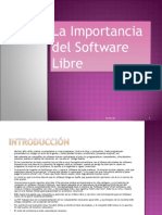 La Importancia Del Software Libre