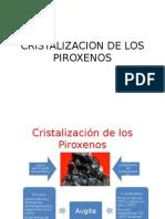Cristalizacion de Los Piroxenos