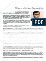 Five Risks Worrying RBI Governor Raghuram Rajan About India - The Economic Times