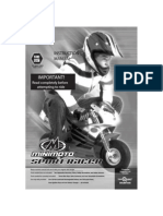 65113686 Manual Minimoto Sport Racer